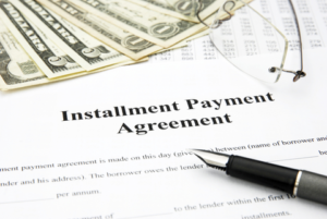 Setting up an IRS Payment Plan